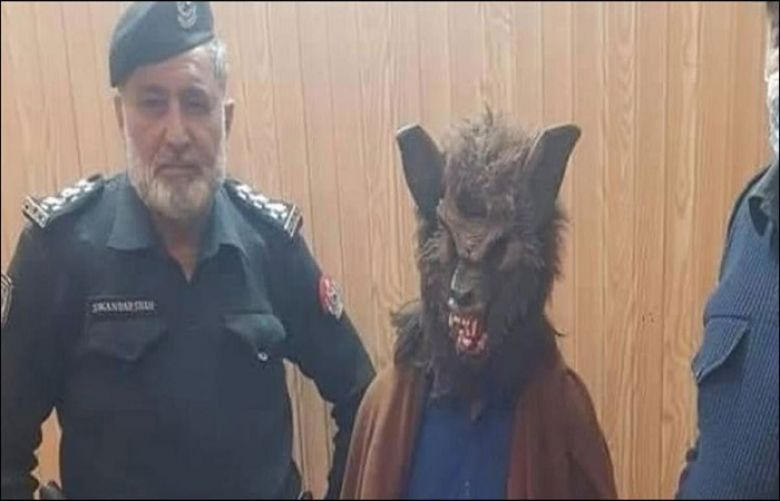 Police arrest man for intimidating citizens with weird facemask