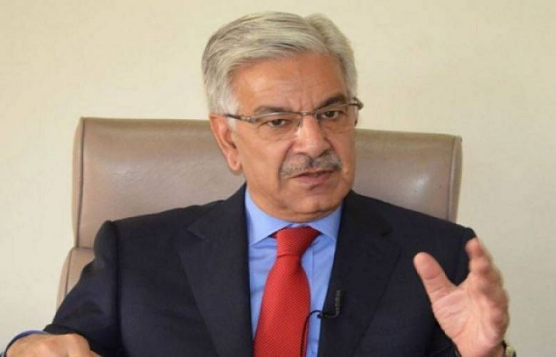 Minister for Foreign Affairs Khawaja Asif