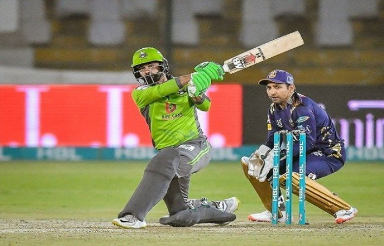 Masterful Hafeez leads Lahore Qalandars to 9-wicket win over Quetta Gladiators in PSL match