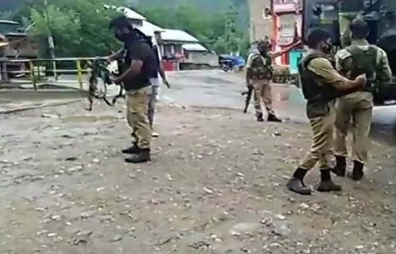 Indian troops martyr three youth in Kulgam