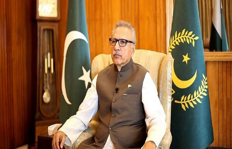President Alvi calls for spreading teachings of Prophet (PBUH) to tackle Islamophobia