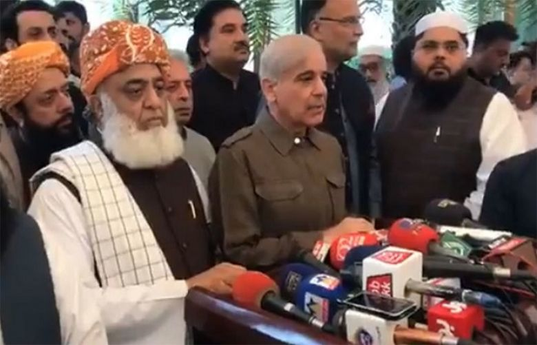 Shehbaz Sharif announces support for Fazl-led Azadi March