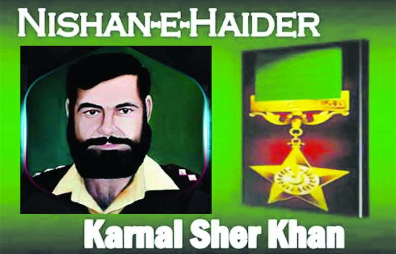 Captain Karnal Sher Khan's 20th martyrdom anniversary Being Observed Today
