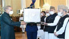 Nishan-e-Pakistan Award conferred upon Kashmiri leader