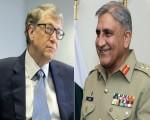 Gen Bajwa, Bill Gates hold phone talk, discuss Pakistan's Covid-19 response