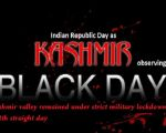 Kashmiris across the globe observing Indian Republic Day, as Black Day