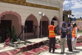Four people martyred, 12 injured in blast at Quetta mosque