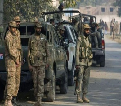 Security forces seized explosive material during raid in Balochistan