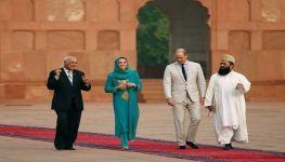 Prince William, Kate Middleton visit iconic Badshahi Mosque in Lahore