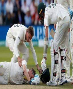 Cummins double stuns England after Smith makes brave 92 in second Ashes Test