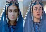 Hira Mani vs Esra Bilgic: Who looks more beautiful in Ertugrul Halime Sultan's getup