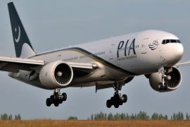 PIA special flight leaves for Toronto carrying Canadian nationals