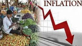 Weekly inflation decreases of 0.92% due to a decline in food prices