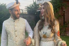 Pop singer Haroon Rashid ties the knot