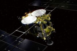 Japanese Space Probe returning back after Asteroid Mission