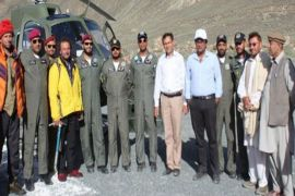 Army rescues three stranded mountaineers in  Nagar GB