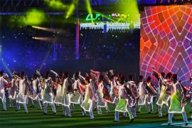 PSL 2020 kicks off in Karachi with elaborate show of music, colour and patriotism