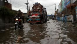 KPDMA issues alert about heavy rains, flash floods in hilly areas