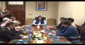 PM Khan holds meeting of Kashmir Core Group