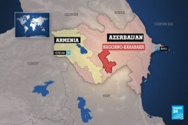New ceasefire agrees over the disputed region of Nagorno-Karabakh
