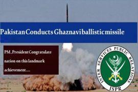 Pakistan successfully conducts-fire Ghaznavi ballistic missile, ISPR