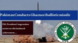 Pakistan successfully conducts-fire Ghaznavi ballistic missile, ISPR