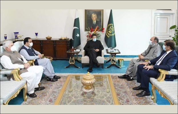 وزیرا عظم کی زیر صدارت مشترکہ مفادات کونسل کا اجلاس