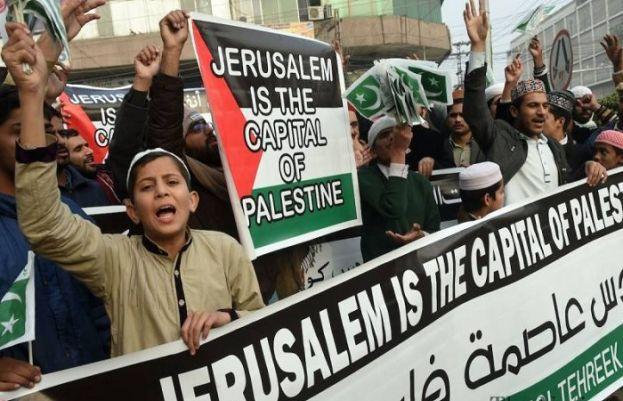 دنیا بھر میں دہشت گرد اسرائیل کے خلاف مظاہروں کا سلسلہ شروع ہو گیا ہے