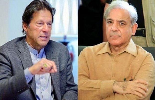 شہباز شریف اور وزیراعظم عمران خان