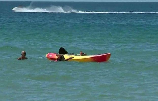 پرتگال کے صدر نے سمندر میں پھنسی دو خواتین کو بچا لیا