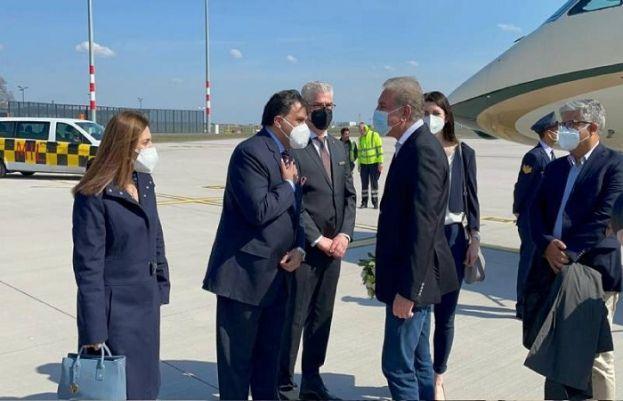 وزیر خارجہ شاہ محمود قریشی 2 روزہ دورے پر جرمنی پہنچ گئے