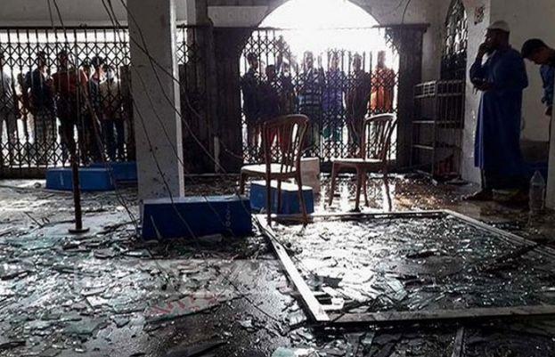مسجد میں دھماکہ