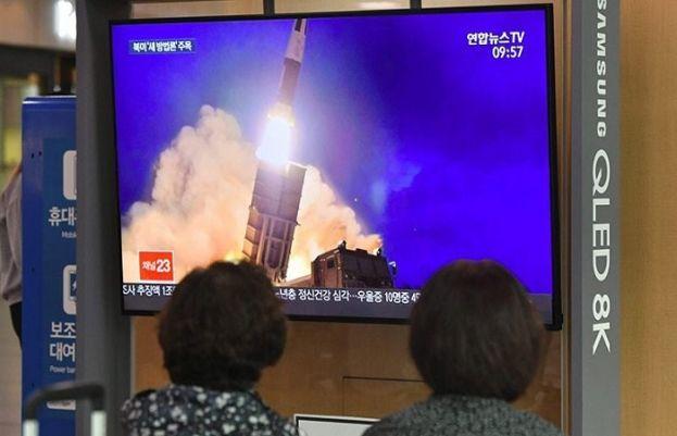 جنوبی کوریا کا بڑھتی ہوئی کشیدگی کے دوران میزائلوں کا تجربہ