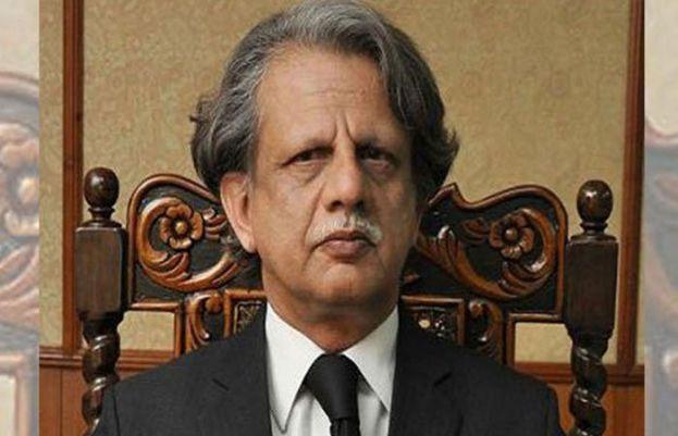 براڈ شیٹ انکوائری کمیشن کے سربراہ جسٹس ریٹائرڈ شیخ عظمت سعید