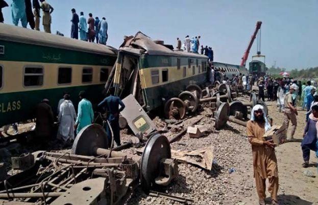 ڈہرکی ٹرین حادثہ کی ابتدائی رپورٹ سامنے آگیا