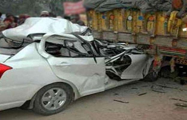پنجاب: ٹریفک حادثے میں 3 افراد جاں بحق