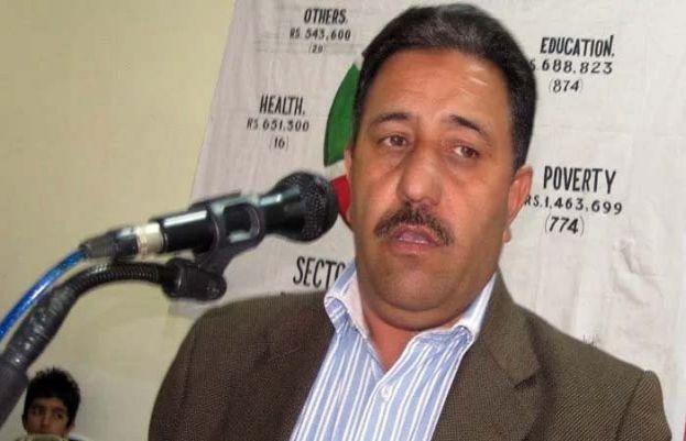 رکن آزاد کشمیر اسمبلی صغیر چغتائی