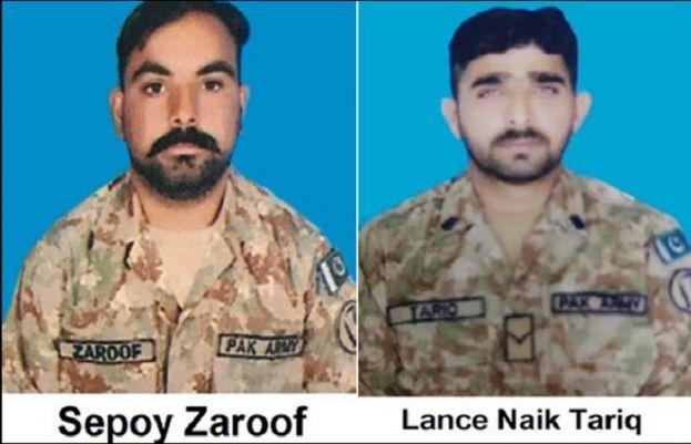 بھارتی فوج کی فائرنگ سے لائن آف کنٹرول پر تعینات دو فوجی جوان شہید، پاک فوج کا بھرپور جواب