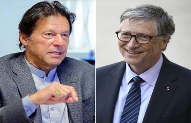 وزیراعظم عمران خان اور مائیکرو سوفٹ کے بانی بل گیٹس
