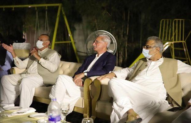 جہانگیر ترین کی جانب سے ارکان قومی و صوبائی اسمبلی کے اعزار میں عشائیہ