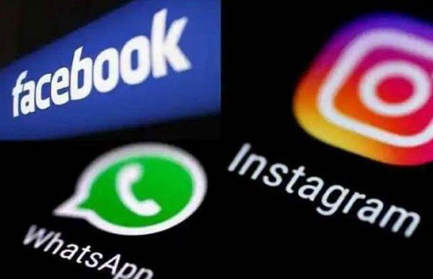 فیس بک، واٹس ایپ اور انسٹاگرام