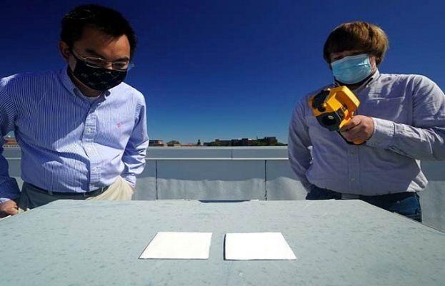 امریکی ماہرین نے 95 فیصد روشنی پلٹانے والا انتہائی سفید پینٹ تیار کرلیا ہے۔