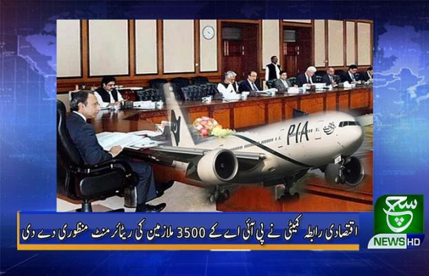 اقتصادی رابطہ کمیٹی اور پی آئی اے