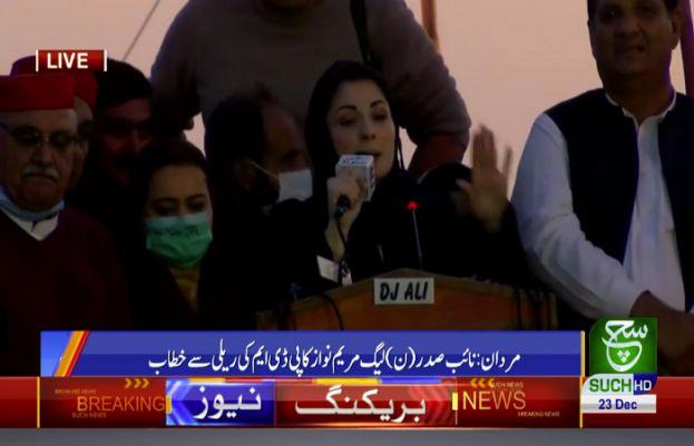 پاکستان مسلم لیگ ن کی نائب صدر مریم نواز