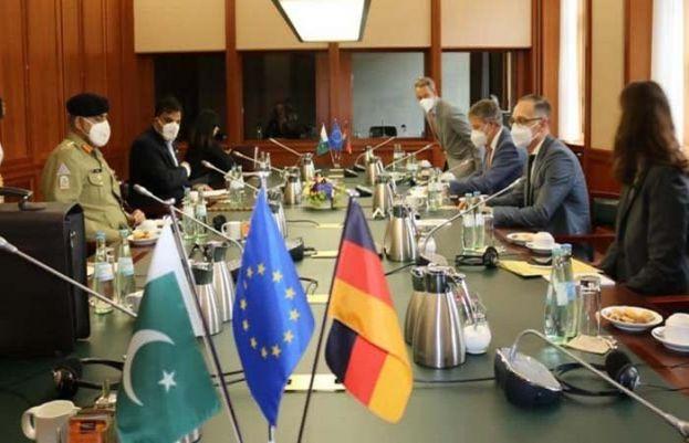 آرمی چیف جنرل قمر جاوید باجوہ نے جرمنی کے وزیر خارجہ ہائیکو ماس سے ملاقات کی