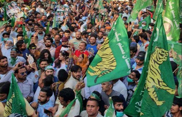 مسلم لیگ ن کے آج مانسہرہ میں ہونے والے جلسے کے لیے تیاریاں مکمل، مریم و دیگر راہنما خطاب کریں گے