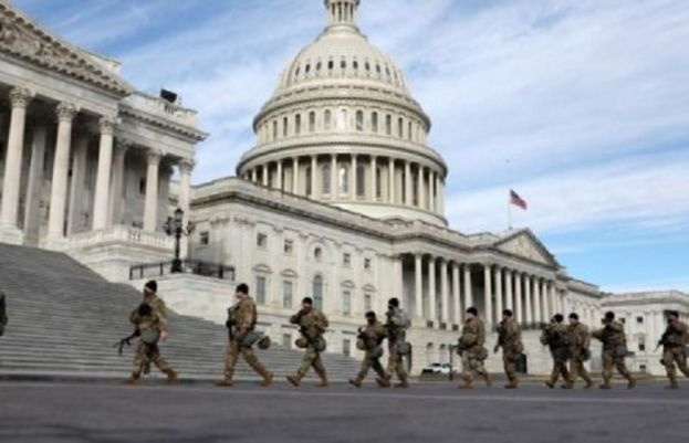 واشنگٹن میں کرفیو کا سماں، پچیس ہزار سے زائد اہلکار تعینات
