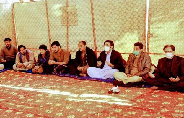 چیئرمین پاکستان پیپلز پارٹی بلاول بھٹو زرداری نے اسکردو میں انجینئر اسماعیل کے بھائی غلام حیدر کے انتقال پر ان سے تعزیت کی۔