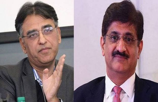 ہم نے سندھ کی عوام پر پیسہ خرچ کرنا ہے، سندھ کی حکومت پر نہیں، اسد عمر کا مراد علی شاہ جواب