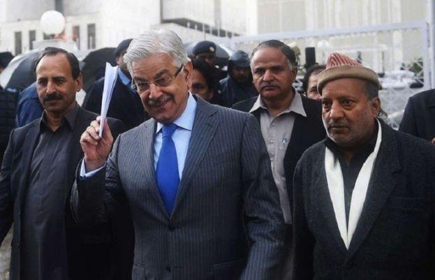 ن لیگی رہنما خواجہ آصف کو ضمانت پر رہا